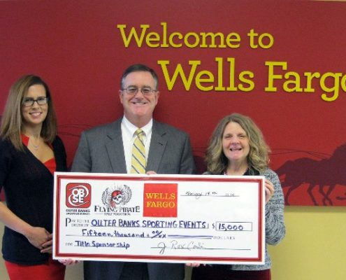 Wells Fargo 2014 - Flying Pirate lead sponsorship
