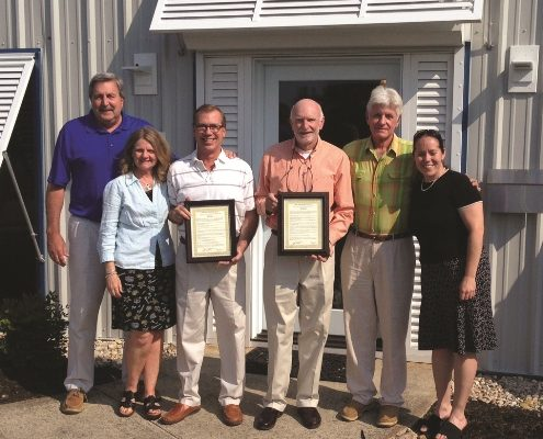 Outer Banks Sporting Events honors outgoing board members