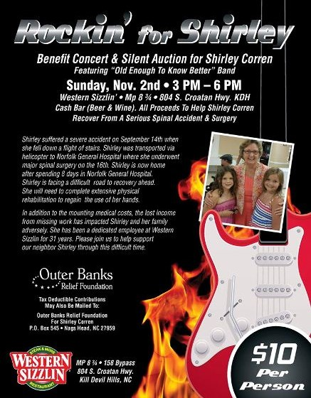 Rockin for Shirley Benefit Concert and Silent Auction - 110214 - web2