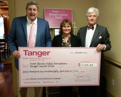 2014 Tanger Breast Cancer Fund Check Preso - web2