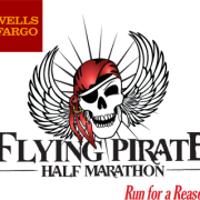 Flying pirate-logo for Expo raffle ticket sales 2016